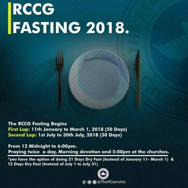 2018 Fasting & Prayer - RCCG BAHRAIN VICTORY HOUSE