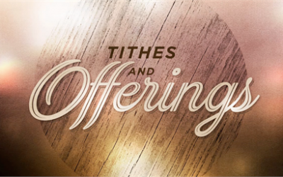 April 2018 – IMPORTANCE OF TITHING!